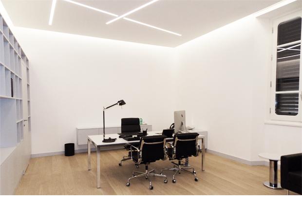 illuminazione ufficio design by 07am architettura interior